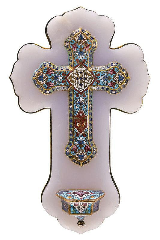 Stoup with Crucifix