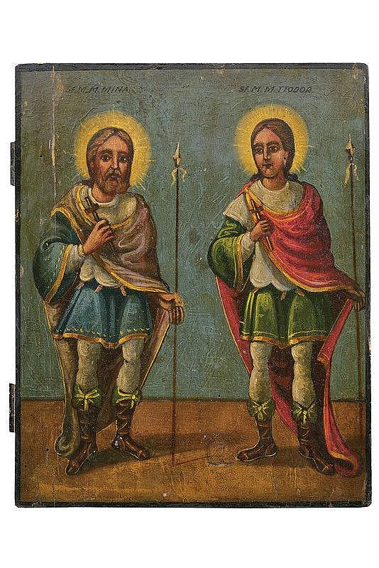 Saints Mina and Teodoro