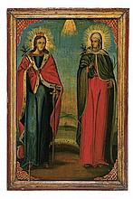 Saint Barbara and Saint Zoe of Rome