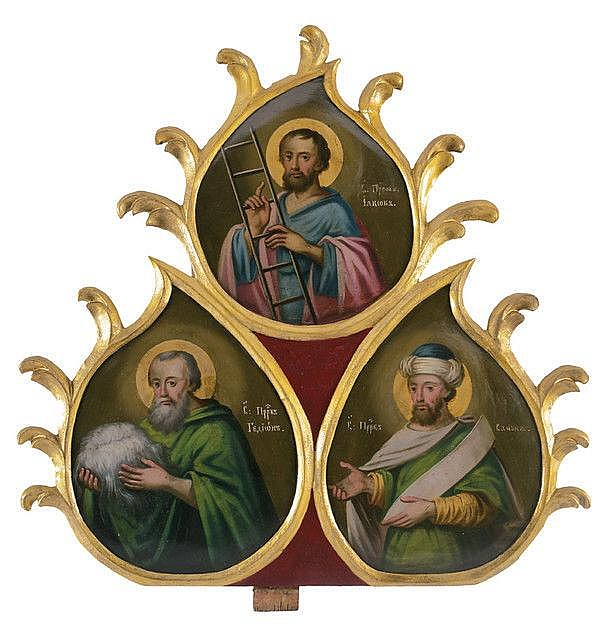 The prophets James, Gideon and Samuel