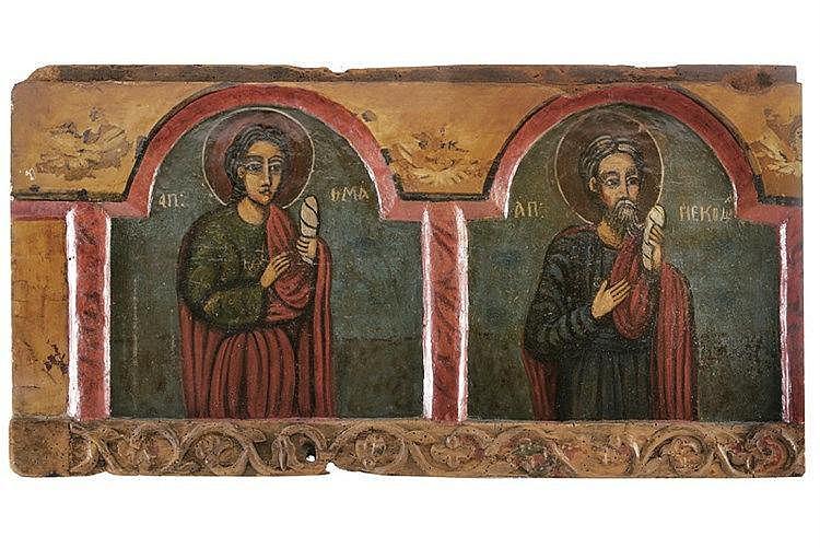 Apostles Thomas and Nicodemus