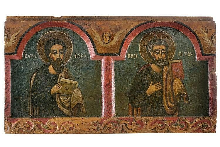 Apostles Luke and Peter