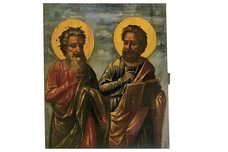Apostles Andrew and Marcus