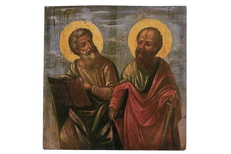 Apostles Matthew and Paul