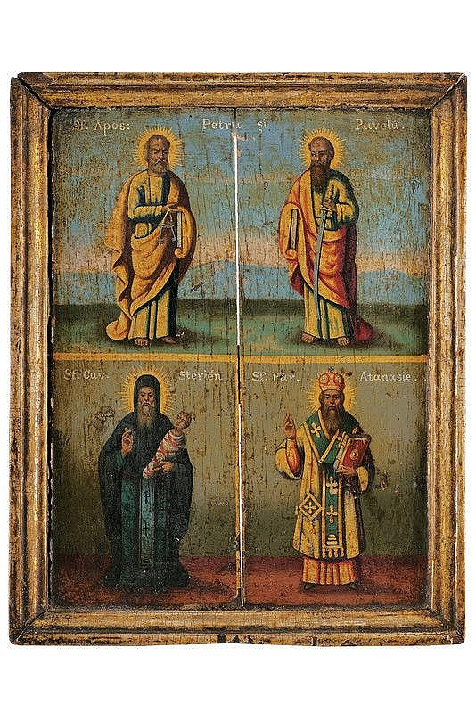 Saints Peter and Paul, Stigliano and Athanasius