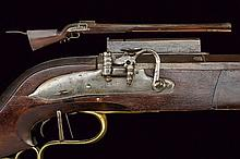 A matchlock wall rifle, dating: 1679, provenance: