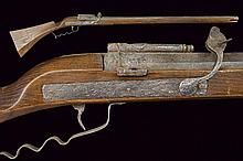A match lock gun, dating: 17th Century, provenance