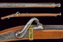A rare percussion teppo, dating: Mid 19th Century,