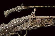 A silver mounted Moukala, dating: mid-19th Century