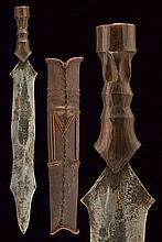 A Salampasu dagger, dating: early 20th Century, pr