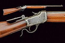 Winchester single shot rifle model 1885, dating: 1