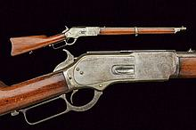 Winchester Model 1876 Carbine late second model, d