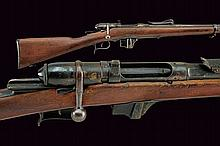 A 1870/87 Model T.S. Vetterli Rifle, dating: last