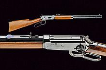 A 1894 model miniature Winchester, dating: 20th Ce