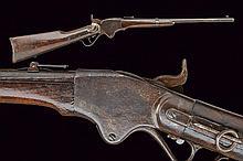 An 1865 model Spencer carbine, dating: Third quart