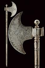 An axe, dating: 19th Century, provenance: Indopers