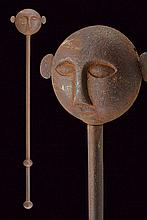 A mace, dating: First half of the 19th Century, pr