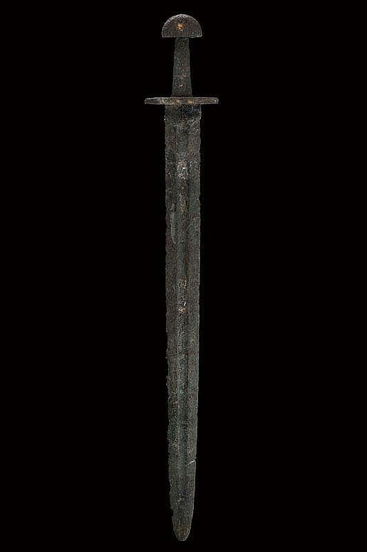 A Viking type VIIIB sword