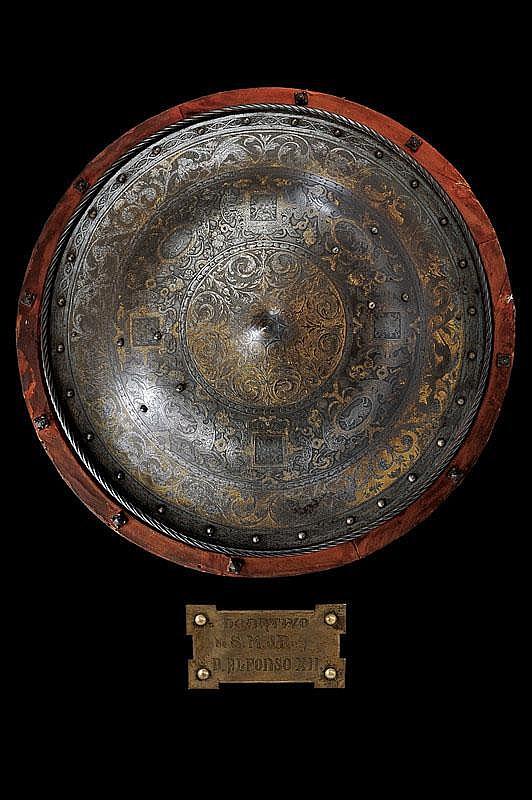 A royal shield by Daniel Zuloaga