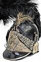 A National Horse Guard officer's helmet