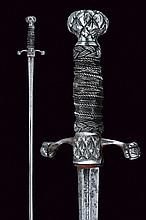 A pillow-sword