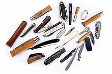 A lot of twenty folding knives