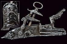 An outstanding Roman style flintlock