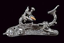 A beautiful snaphaunce flintlock by Zanotti