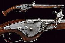 A wheel-lock pistol