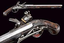 A flintlock pistol by Domenico Maria Lelli