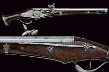 A military wheel-lock pistol