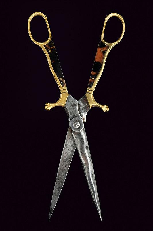 A rare scissors-dagger