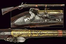 An interesting musket with gilded barrel for the East India Company