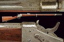 An 1868 model Army Remington Nagant rifle