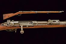 A 1781 model Mauser bolt-action rifle