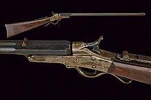 A Maynard Single Shot Rifle Model 1873