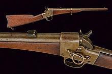A Remington Single Shot Breech-Loading Carbine
