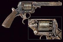 A Tranter percussion revolver