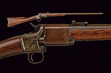 A rare Triplett & Scott Repeating Carbine