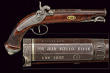 A fine percussion pistol
