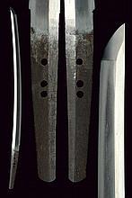 A wakizashi in shirasaya