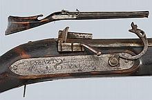 A rare matchlock gun