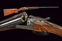 A double barrelled breech loading gun by D. & J. Fraser