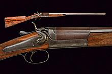 A single shot Cogswell & Harrison gun