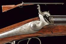 A double barrelled shotgun by Brunel