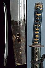 A Nagamaki wakizashi di Tame Iye Bitchu