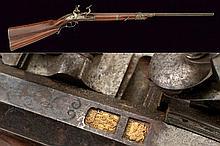 A silver mounted snaphance gun with barrel by Egidio Leoni