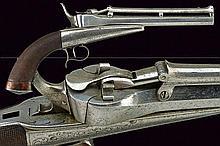 A rare gravity Collette pistol