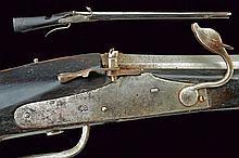 A military matchlock gun