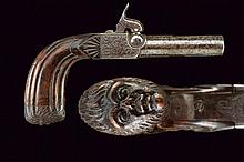 A fine percussion pocket pistol